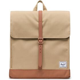 Herschel City Mid-Volume Backpack 14l, kelp/saddle brown
